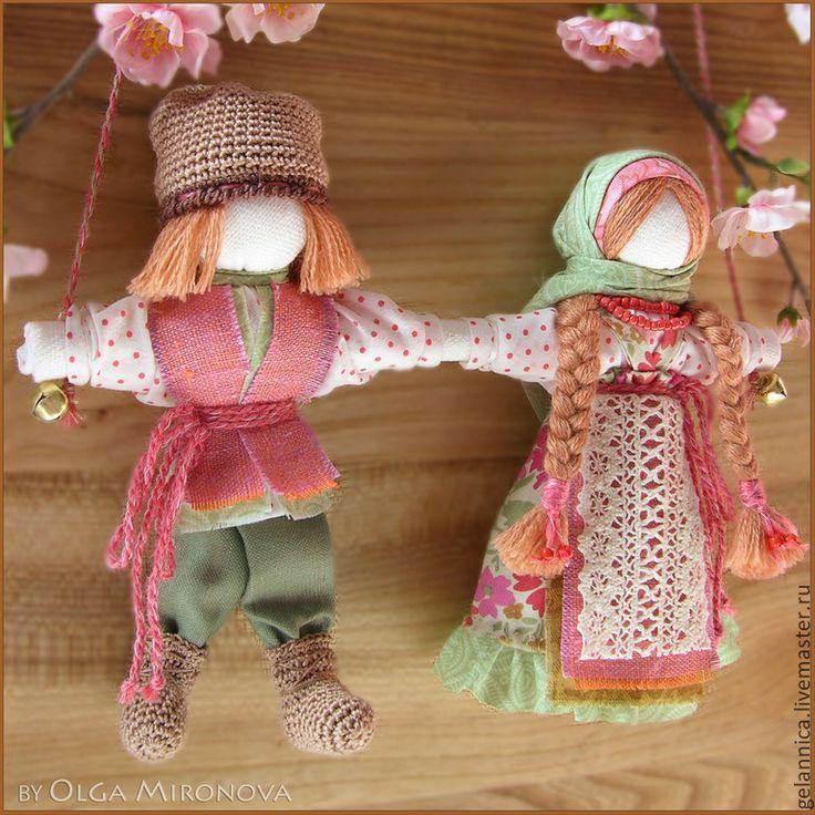 Куклы обереги для молодоженов своими руками 81