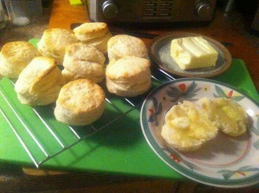 Flakey Buttery Biscuits | Breakfast | Pinterest