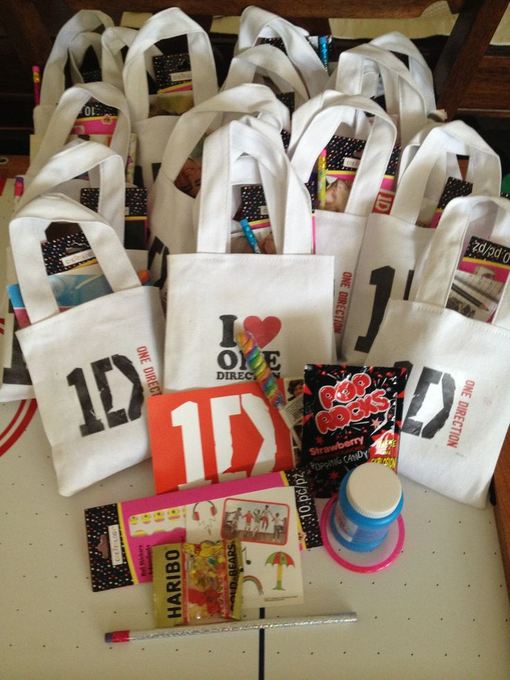 One direction favor bags