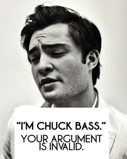 ohhhh Chuck Bass.