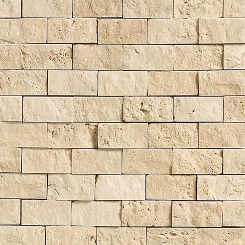 Daltile travertine collection split face mosaic floor or wall tile 1