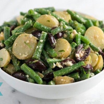 Feta, Green Bean and Potato Salad Recipe   Recipes To Try   Pinterest