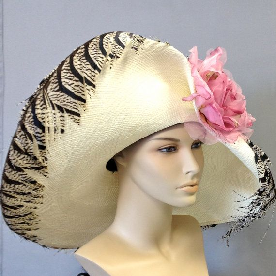 ivory panama straw s kentucky derby hat s