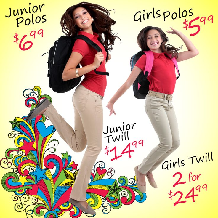 Melrose family fashions has what you need for back to school hurry in
