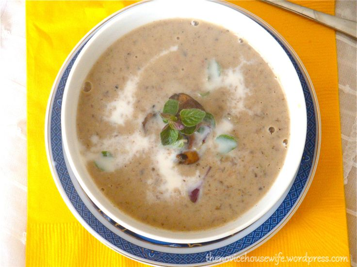 Recipe: Spicy Garlic, and Mushroom Soup | Soups | Pinterest
