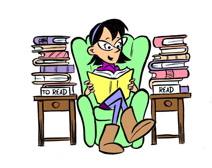clip art girl reading tpt language arts lessons