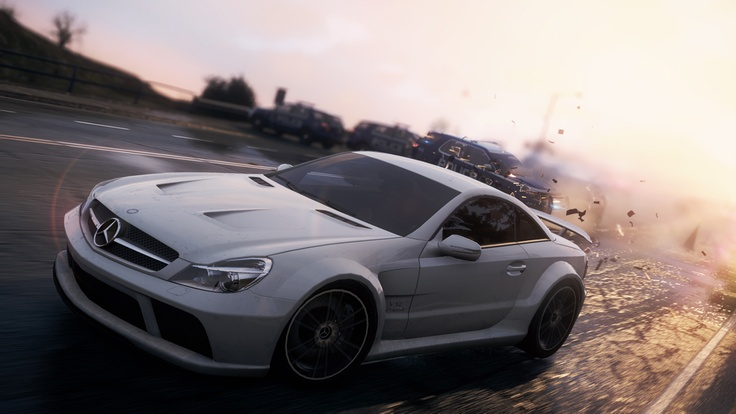 39 need for speed most wanted 39 mercedes benz games for Mercedes benz games