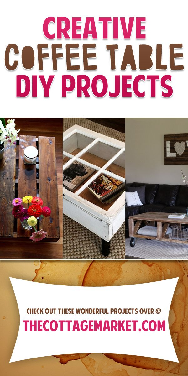 Creative Coffee Table DIY Projects Craft Ideas DIY Tutorials Pi