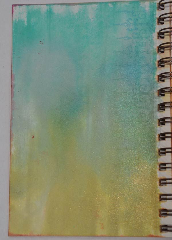 Journal Page Background Techniques
