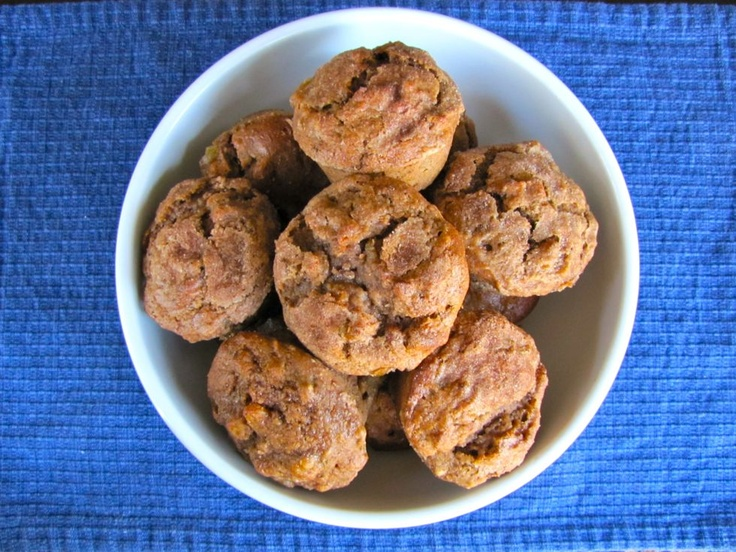Seven Species Muffins for Tu B'Shevat / Shiksa in the Kitchen