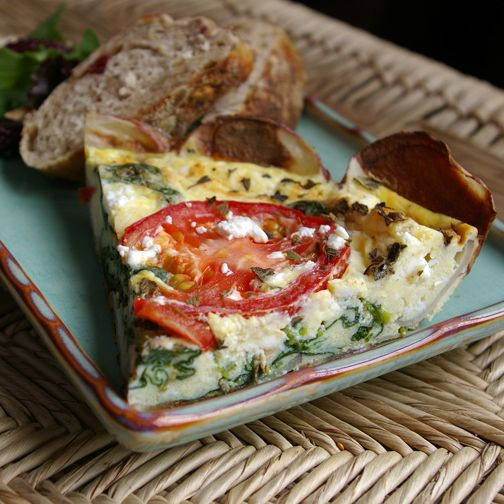 Greek Frittata. This is the first frittata recipe that started my ...