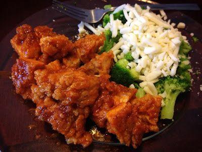 42nd Recipe Street: Honey-Sriracha Glazed Buffalo (Boneless) Wings
