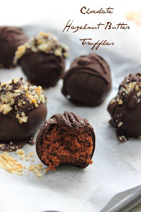 Hazelnut Truffles | You Saucy Minx! Condiments, Sauces, Dressings | P ...