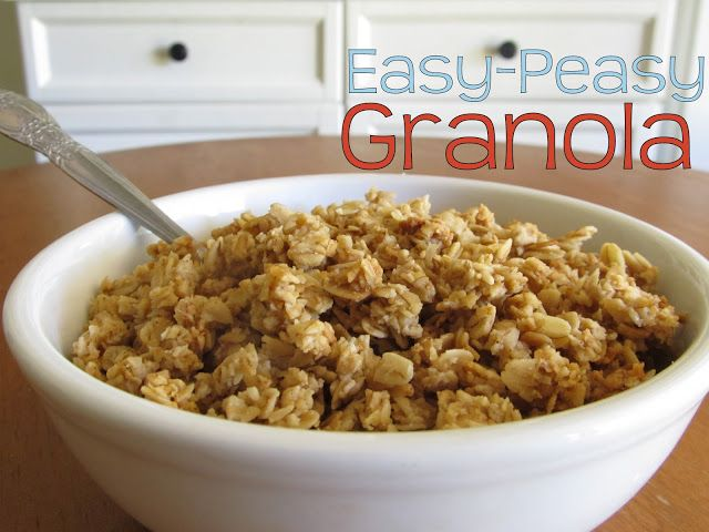 Simple Granola Recipe | Weed'em & ReapWeed'em & Reap
