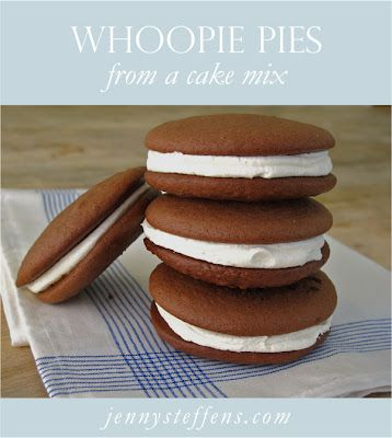 Yummy Whoopie Pies!