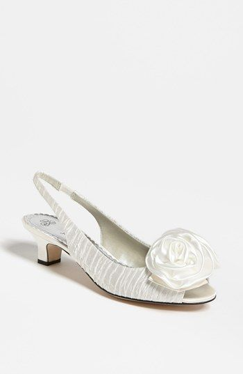 Reneй 'Accent' Slingback Sandal available at #Nordstrom - in beige
