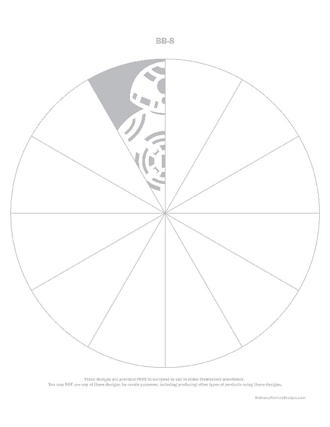 Old Fashioned Star Wars Snowflake Templates Free Vignette - Resume ...