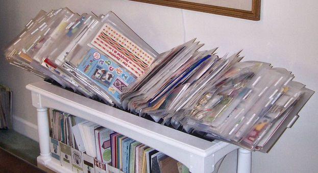 Sticker Organizing Ideas Top Scrapbook Organization Tips