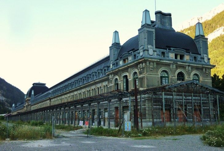 Canfranc railway station spain beautiful pictures old homes amp build