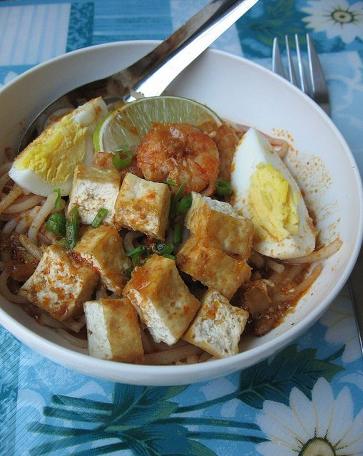 Spicy Tangy Rice Vermicelli, Mee Siam ~ Teczcape-An Escape to Food