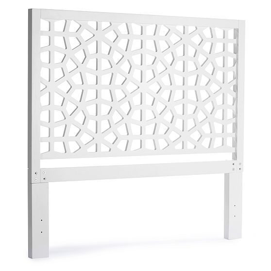 west elm morocco headboard m room pinterest