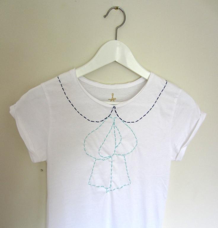 Hand embroidery on shirts makaroka