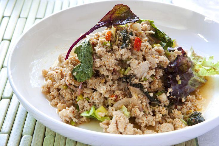 Thai Larb Chicken Salad | Asian Fusion | Pinterest
