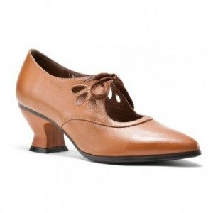 Edwardian Shoes Gibsons - Great Downton Abbey shoe. Come is Black