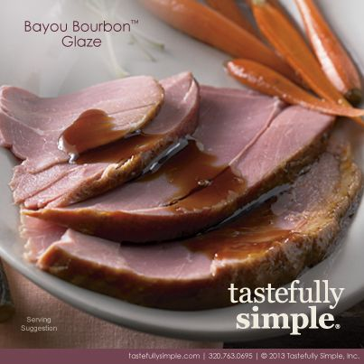 Bayou Bourbon Glaze. This savory brown sugar bourbon sauce has hints ...
