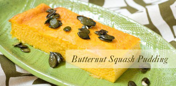 butternut-squash-pudding | Yum! | Pinterest