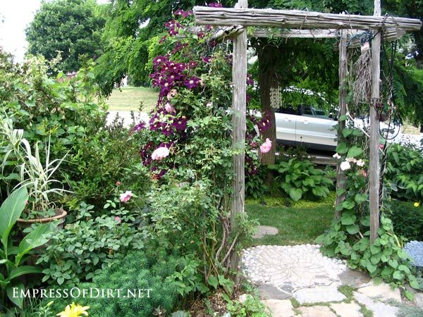 20 Ideas Arbors Trellis Obelisks and More