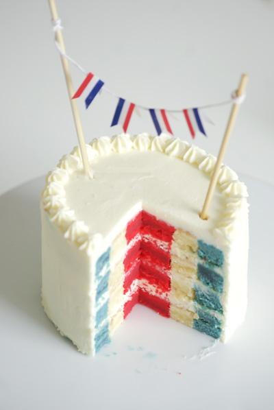 cake for bastille day