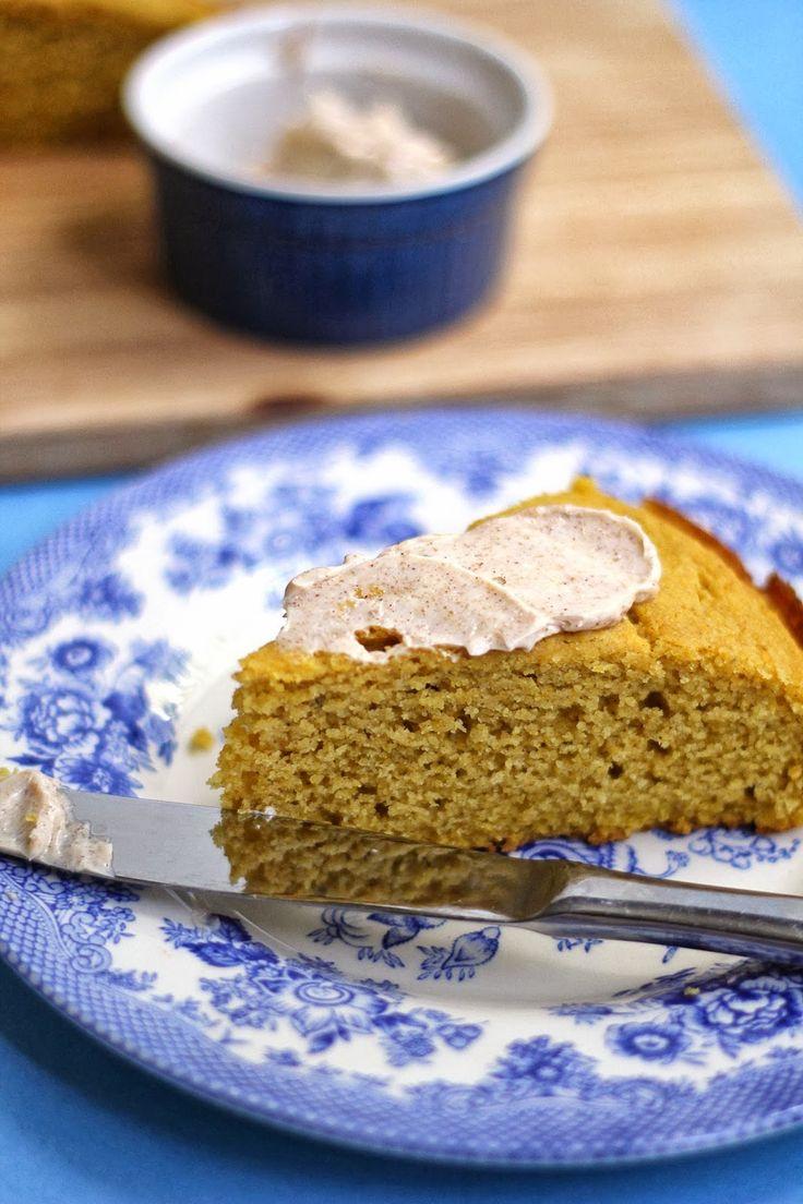 pumpkin brown butter # cornbread # cinnamon # butter # recipe