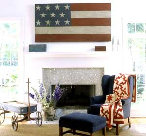 Home Decorating on July 4th Home Decor   Home Style
