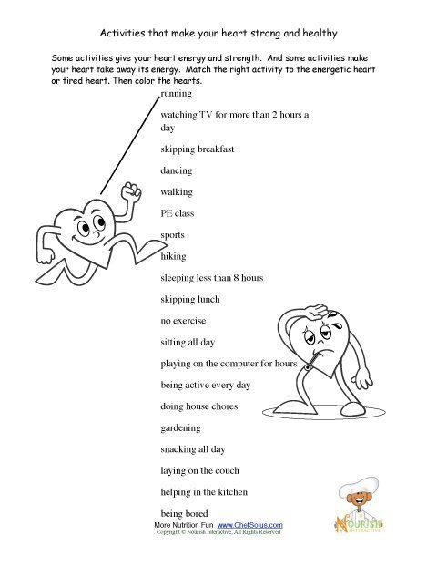 pe homework sheets