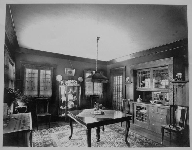 craftsman dining room interior craftsman style pinterest