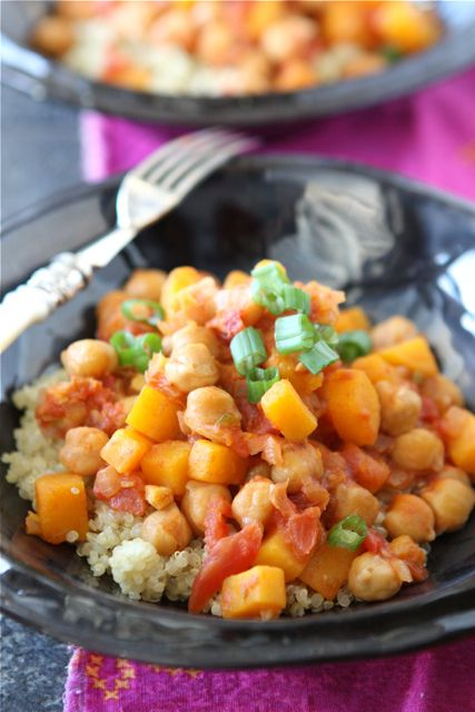 Vegetarian Stew with Quinoa, Butternut Squash & Coconut Milk   Recipe