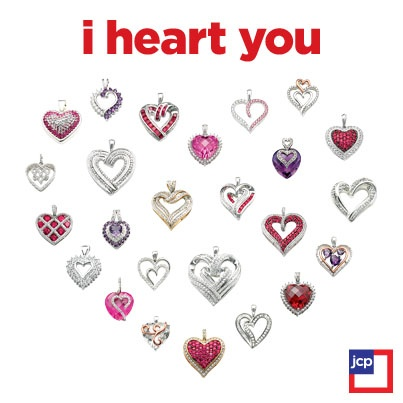 jcpenney valentine's day jewelry