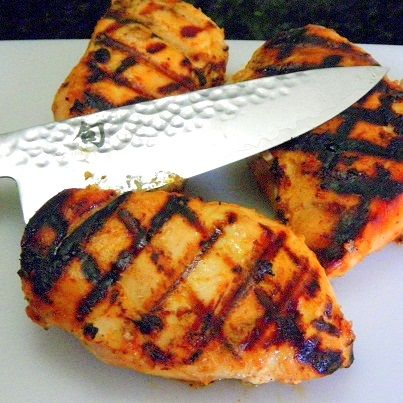 Inspired By eRecipeCards: Honey Mustard Grilled Chicken ala My Tasty ...