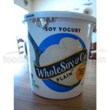 WholeSoy Organic Plain Soy Yogurt 24 Ounce@Heather Brown