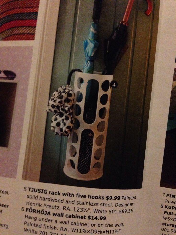 Ikea Wickelkommode Hemnes Neupreis ~ RATIONELL VARIERA plastic bag dispenser as umbrella holder $1 99