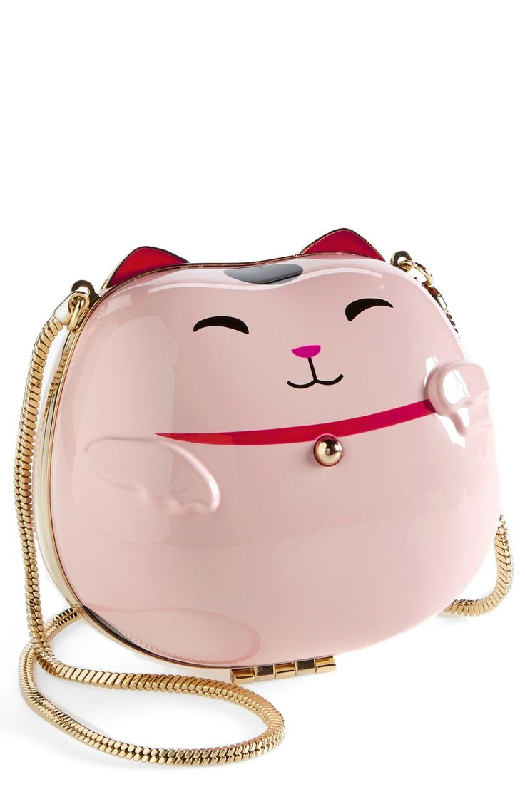 Kate Spade 'hello tokyo cat' clutch.