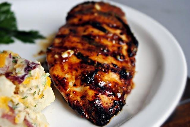 grilled honey mustard chicken | Yummy in the Tummy | Pinterest