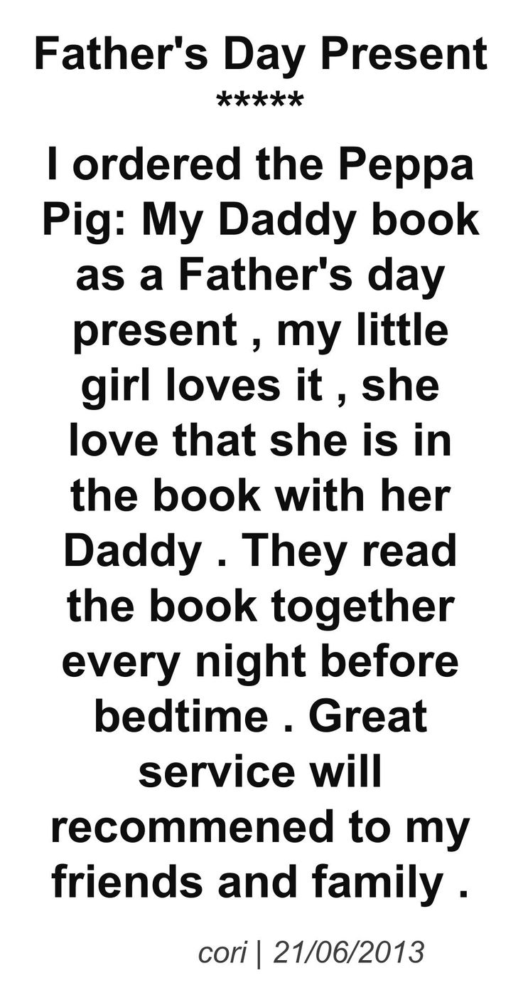 father's day book read aloud
