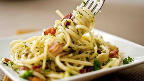 Pasta With Creamy Leek and Garlic Pesto - Video and Recipe - The ...