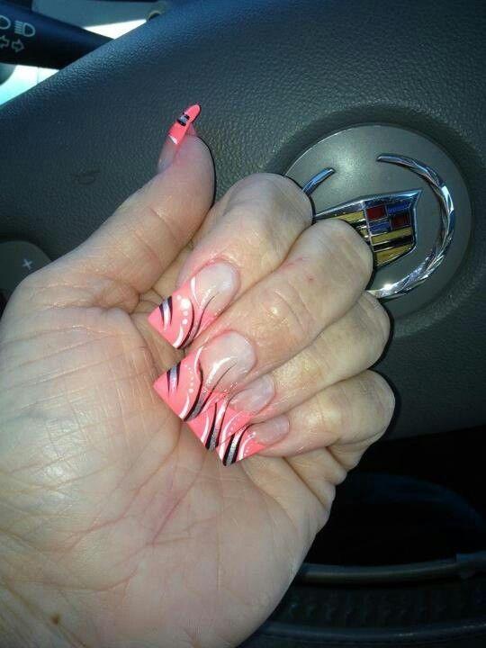 Line Art On Nails : Line nail art nails pinterest