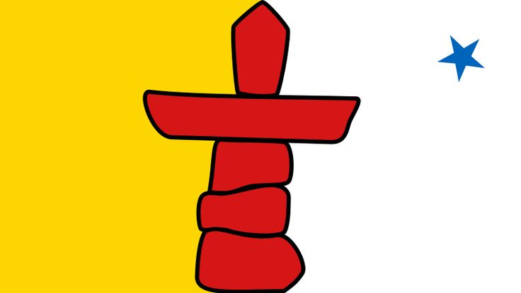 about nunavut's flag