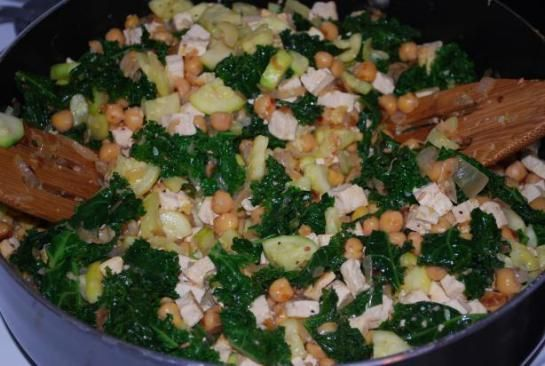 Lemony Chickpea Stir-Fry -- leave out tofu for phase 1 and chicks for ...