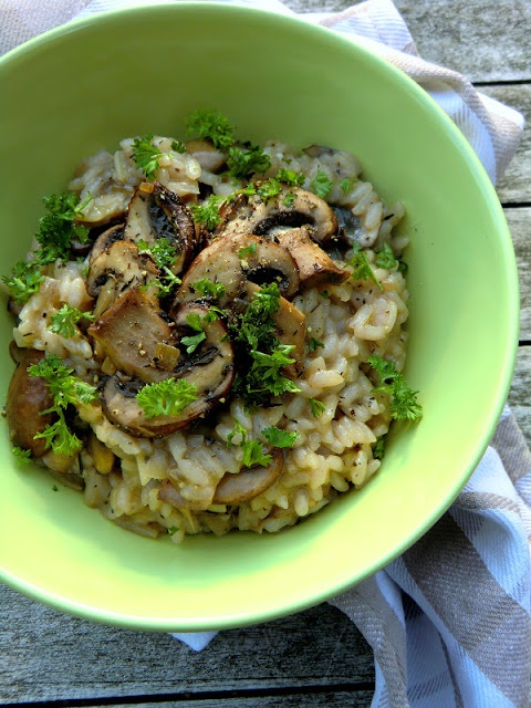 Lemon and Thyme Risotto with Mushrooms | Food Glorious Food | Pintere ...