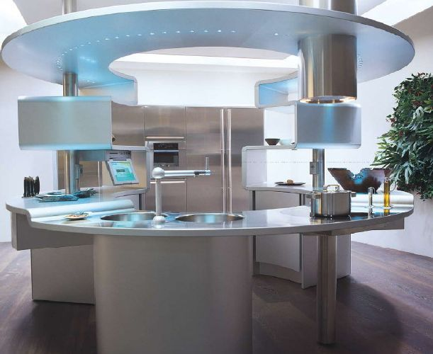 The future rounnd kitchens modern interior idea pinterest - Italy kitchen design ...